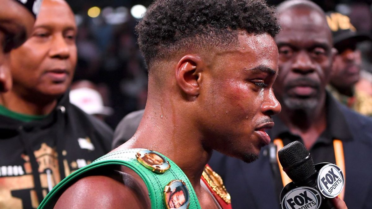 Spence: I don't care for a Thurman fight