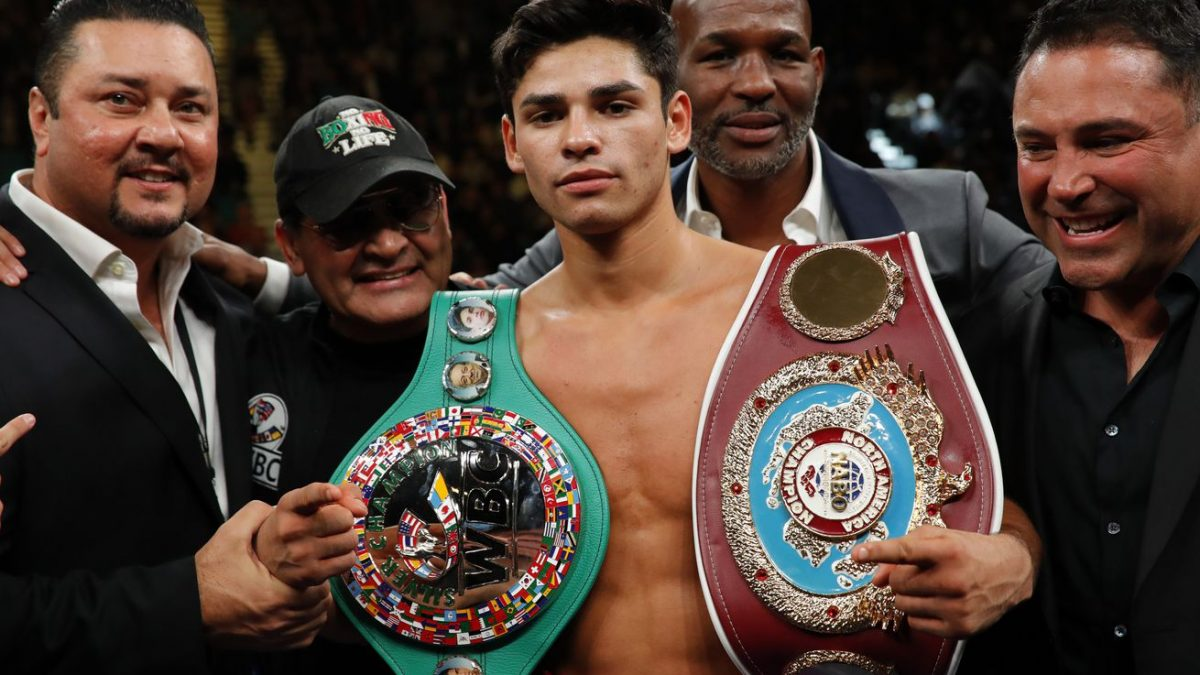 Garcia: I'll knock Campbell out within three rounds