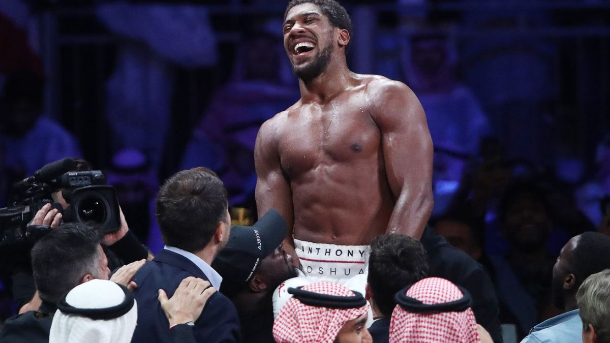 Joshua: Wilder told the world he ducked me to fight Fury