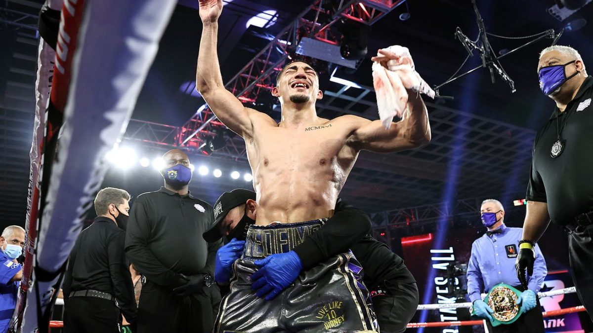 Teofimo urges Haney, Garcia, Tank and others to take risks and prove greatness
