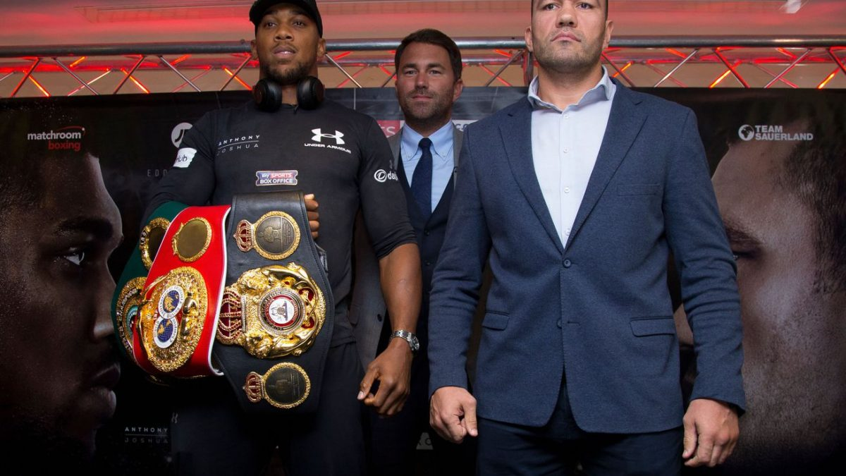 Hearn: Extra precautions in place for Joshua-Pulev