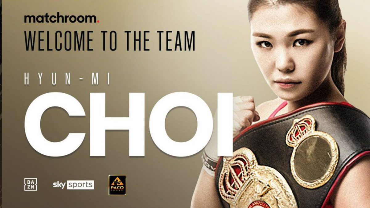 Matchroom signs WBA super featherweight champion Choi