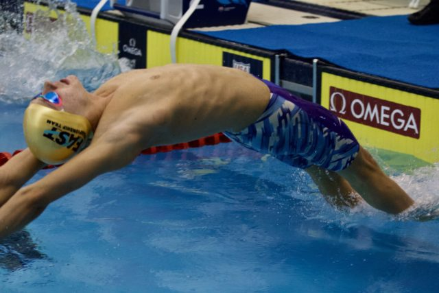 Josh Zuchowski Swims #1 200 Backstroke Time in Class of 2022 at Post-State Meet