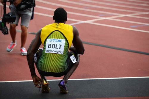 Bolt thinks now C. Ronaldo is faster