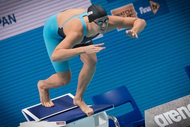Renshaw Produces British Record In 100 Breaststroke
