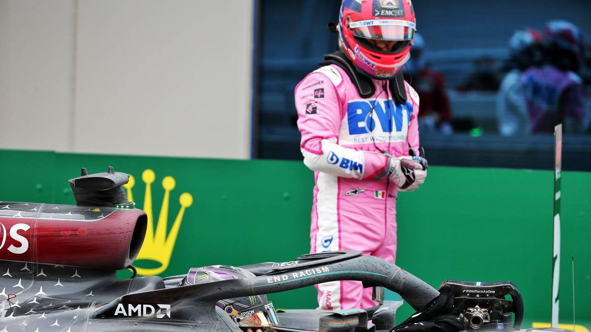 Perez feared tyre blow-out on the way to second place