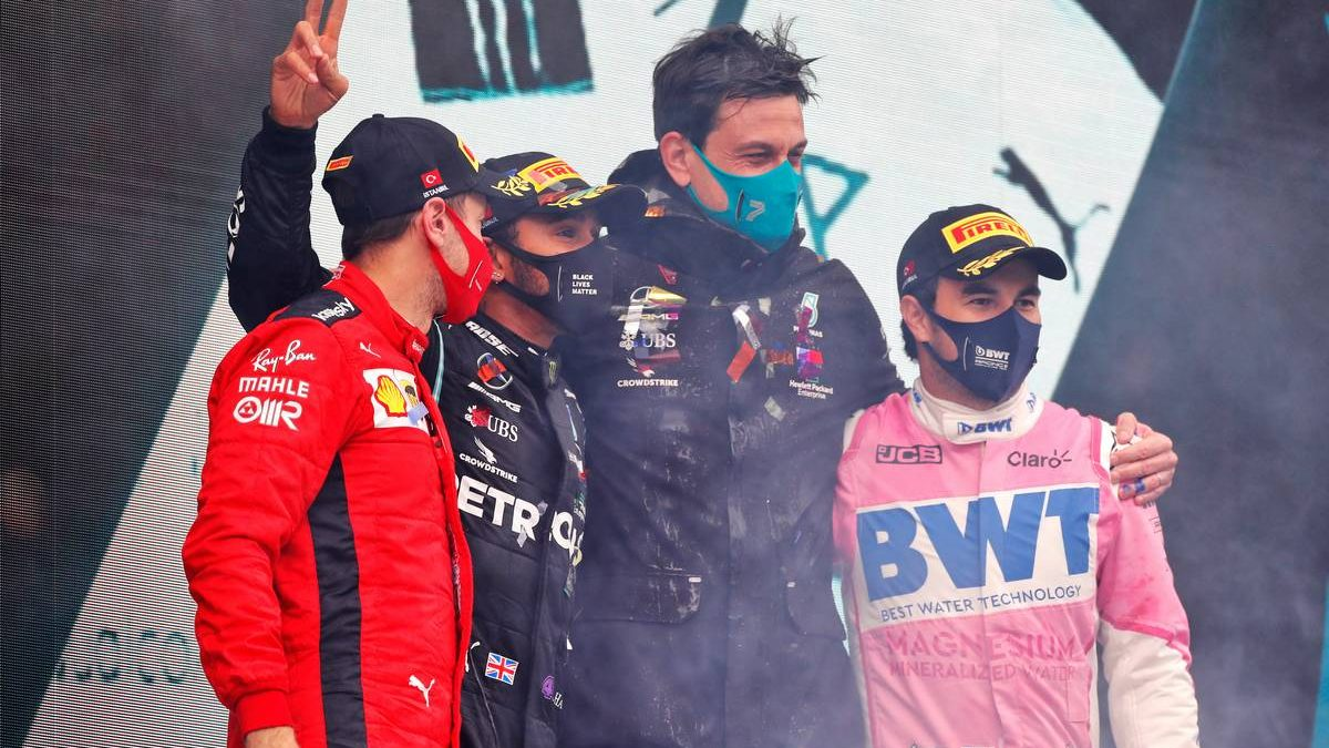Vettel: It was 'a bit of a surprise to snatch the podium'