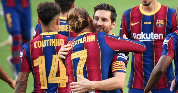 Griezmann points finger of blame; admits Messi said he had 'screwed him'