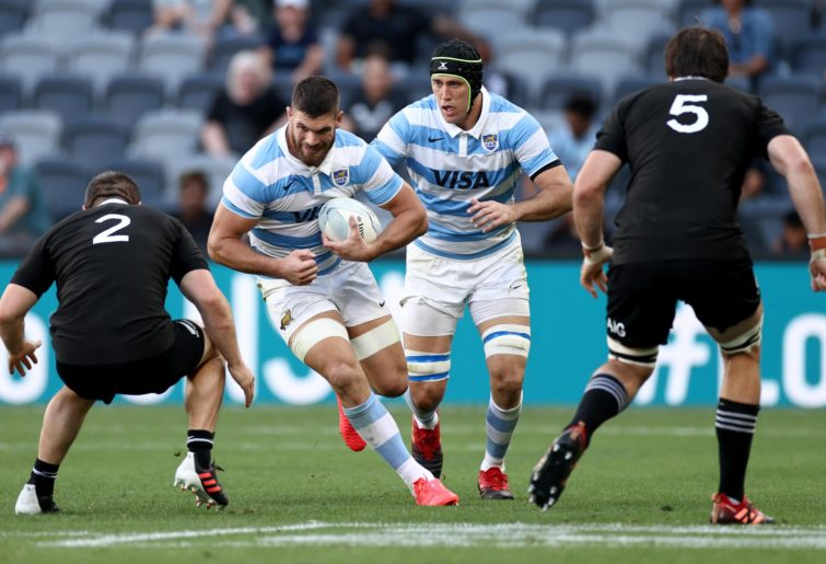 How did Argentina claim a historical win over the All Blacks?