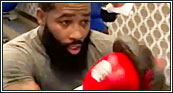 """[VIDEO] ADRIEN BRONER """"SOON TO BE 5X"""" TRAINING; THROWING HANDS AND GETTING SHARP WITH GERALD TUCKER FOR RETURN"""