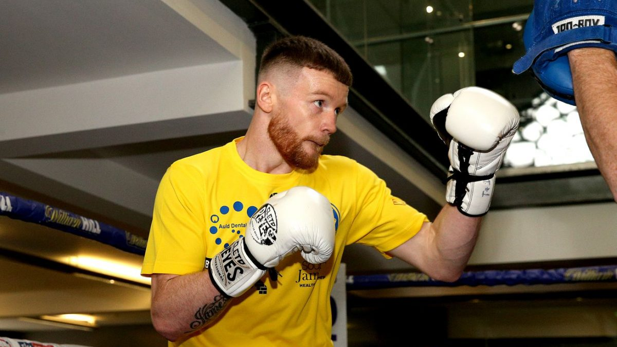 Tennyson set for eliminator, looking to mix with top lightweights