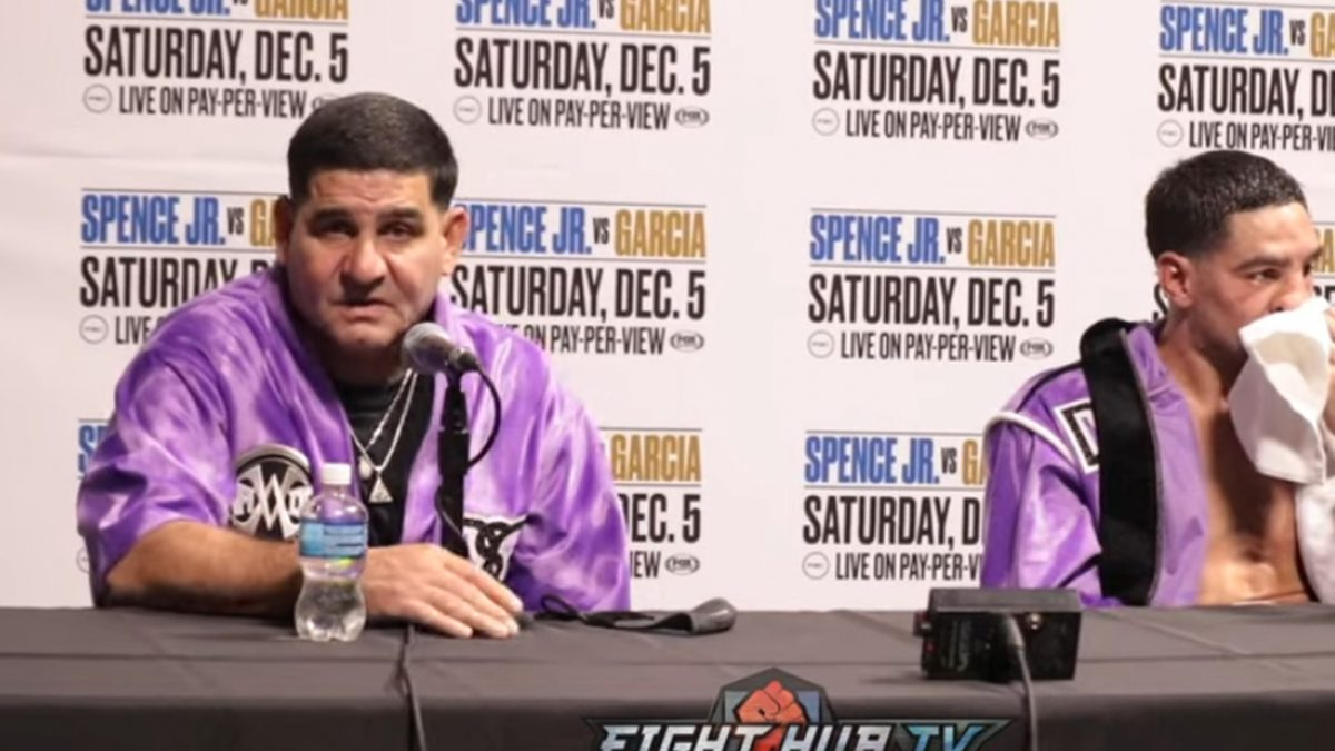 Angel Garcia: Danny needed to throw more against Spence, let fight get away