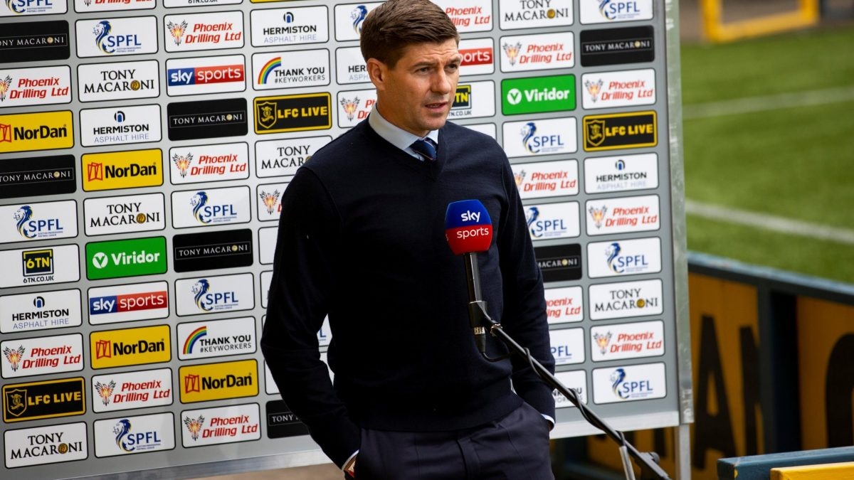 """Gerrard must unleash """"incredible"""" Rangers beast who """"manages himself"""" against Dundee – opinion"""