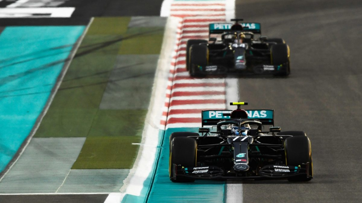 Bottas say race pace marginally improved in 2020