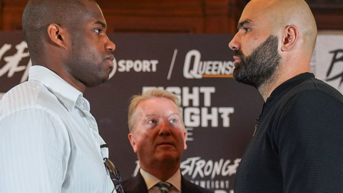 Dubois confident in comeback with trainer McGuigan at his side